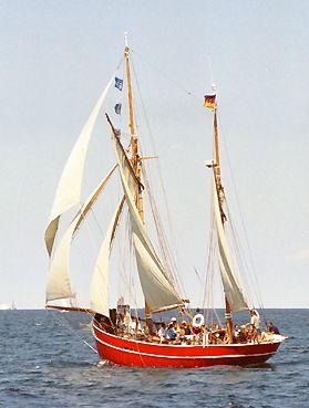 Gefion, Volker Gries, Hanse Sail Rostock 2003 , 08/2003