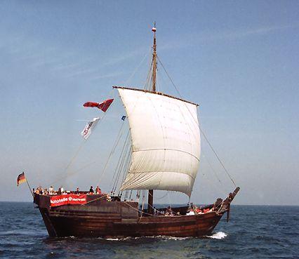 Hanse-Kogge, Volker Gries, Hanse Sail Rostock 2003 , 08/2003