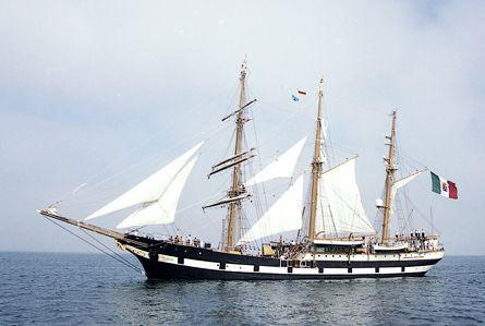 Palinuro, Volker Gries, Hanse Sail Rostock 2003 , 08/2003
