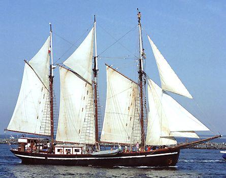 Bel Espoir II, Volker Gries, Hanse Sail Rostock 2003 , 08/2003