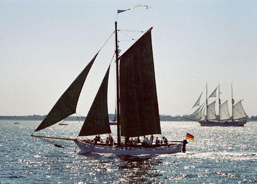 Oll Karl, Volker Gries, Hanse Sail Rostock 2004 , 08/2004