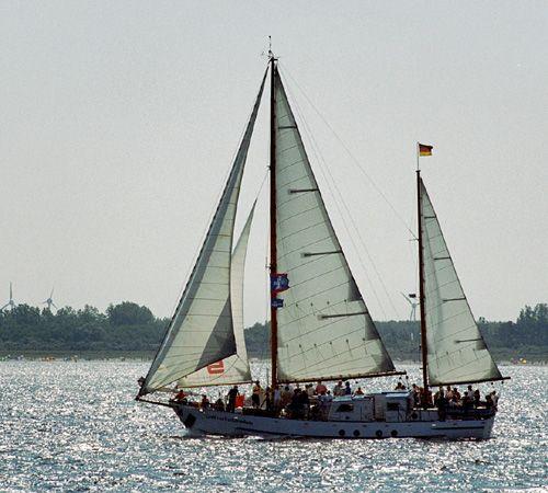 Greif von Ueckermünde, Volker Gries, Hanse Sail Rostock 2004 , 08/2004