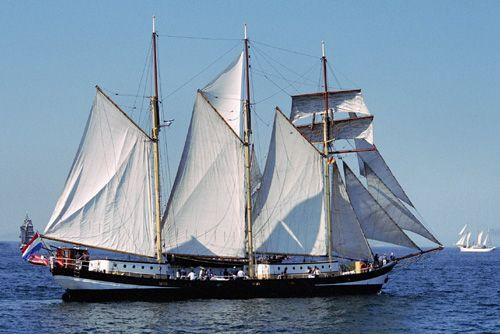 Swaensborgh, Volker Gries, Hanse Sail Rostock 2004 , 08/2004