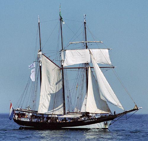 Oosterschelde, Volker Gries, Hanse Sail Rostock 2004 , 08/2004