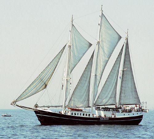 Pedro Doncker, Volker Gries, Hanse Sail Rostock 2004 , 08/2004