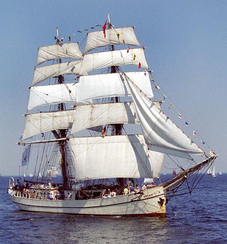 Astrid, Volker Gries, Hanse Sail Rostock 2004 , 08/2004