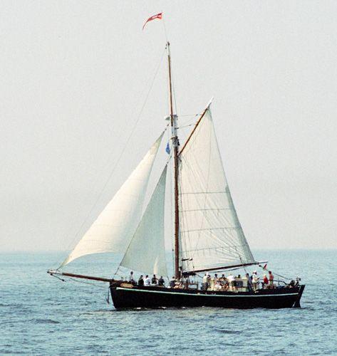 Adelante, Volker Gries, Hanse Sail Rostock 2004 , 08/2004