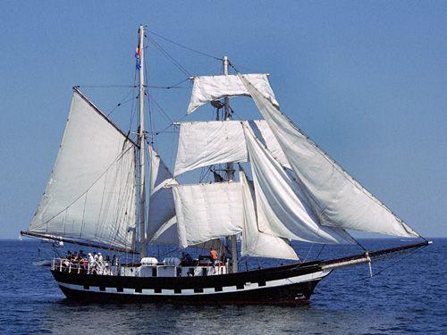 La Malouine, Volker Gries, Hanse Sail Rostock 2004 , 08/2004