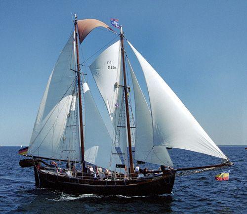 Qualle, Volker Gries, Hanse Sail Rostock 2004 , 08/2004