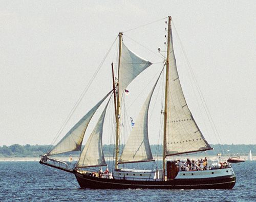 Meander, Volker Gries, Hanse Sail Rostock 2004 , 08/2004