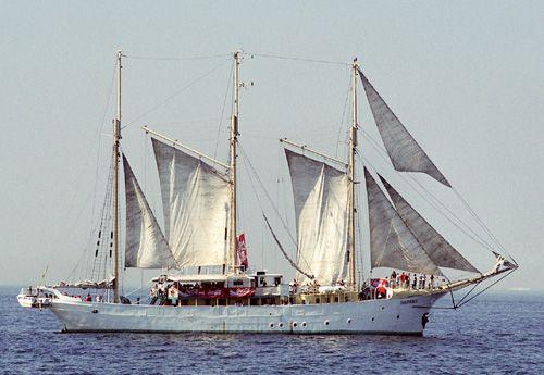 Sunthorice, Volker Gries, Hanse Sail Rostock 2004 , 08/2004