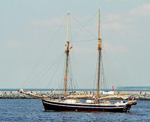Johanne, Volker Gries, Hanse Sail Rostock 2004 , 08/2004