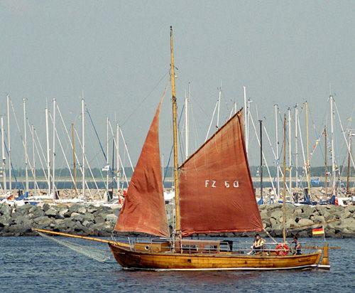 FZ60 Sophia-Theresa, Volker Gries, Hanse Sail Rostock 2004 , 08/2004