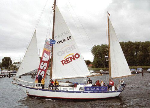 Berliner Bär, Volker Gries, Hanse Sail Rostock 2005 , 08/2005