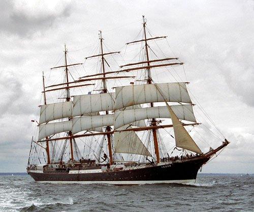 Sedov, Volker Gries, Hanse Sail Rostock 2005 , 08/2005