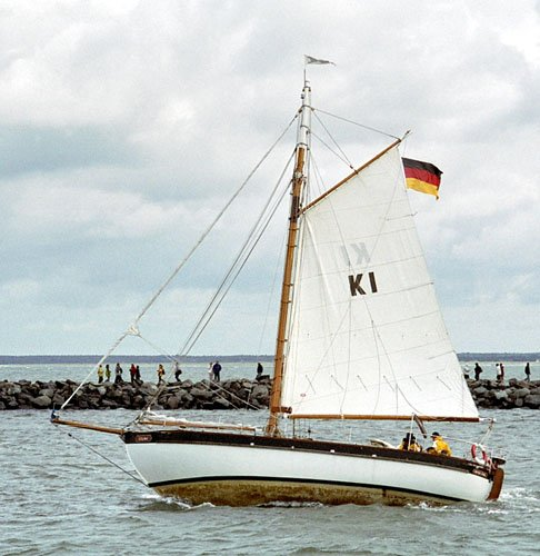 Colina, Volker Gries, Hanse Sail Rostock 2005 , 08/2005