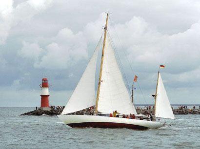 Peter von Seestermühe, Volker Gries, Hanse Sail Rostock 2005 , 08/2005