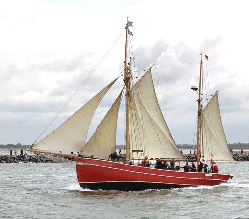 Gefion, Volker Gries, Hanse Sail Rostock 2005 , 08/2005
