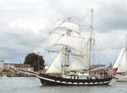 Lady of Avenel, Volker Gries, Hanse Sail Rostock 2005 , 08/2005
