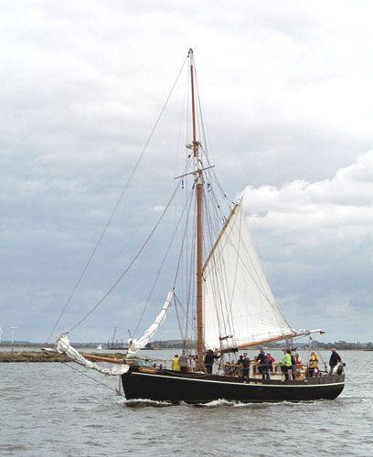 Adelante, Volker Gries, Hanse Sail Rostock 2005 , 08/2005