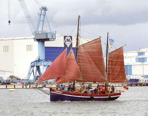 August Ipsen, Volker Gries, Hanse Sail Rostock 2005 , 08/2005