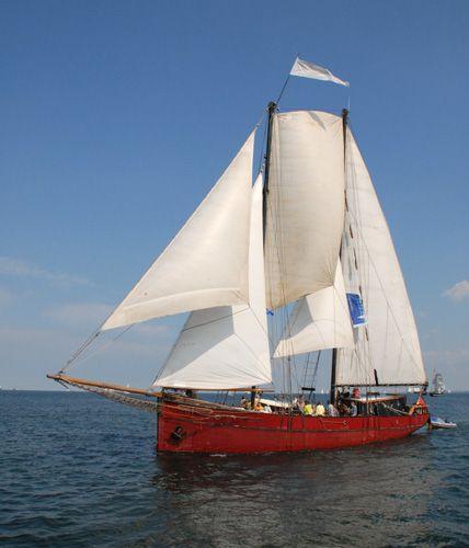 Ethel von Brixham, Volker Gries, Hanse Sail Rostock 2006 , 08/2006