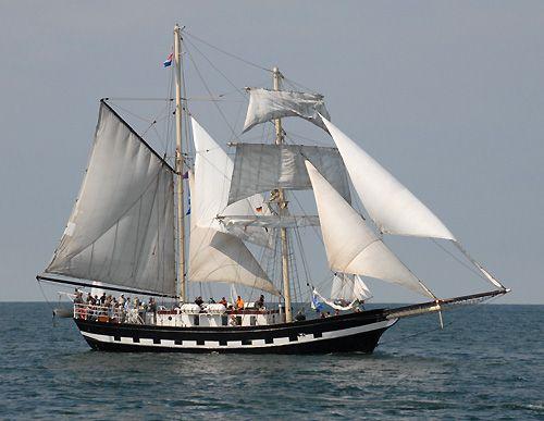 La Malouine, Volker Gries, Hanse Sail Rostock 2006 , 08/2006