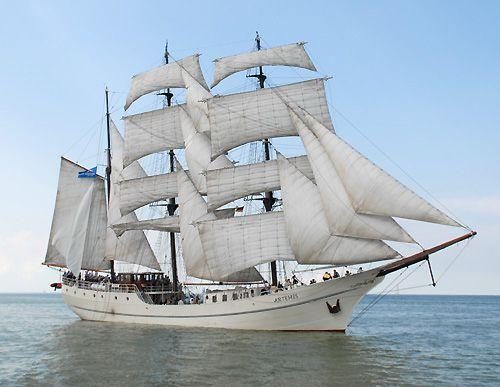Artemis, Volker Gries, Hanse Sail Rostock 2006 , 08/2006