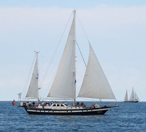 Galene, Volker Gries, Hanse Sail Rostock 2006 , 08/2006