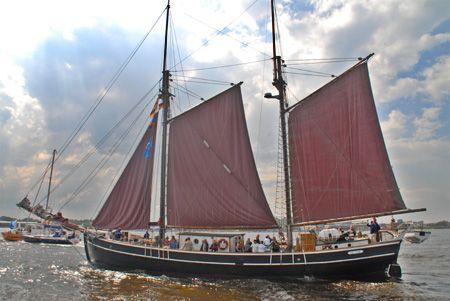 Helene, Volker Gries, Hanse Sail Rostock 2006 , 08/2006