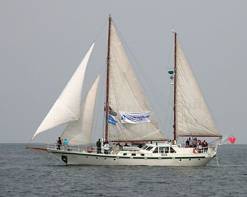 Sabia, Werner Jurkowski, Hanse Sail Rostock 2006 , 08/2006