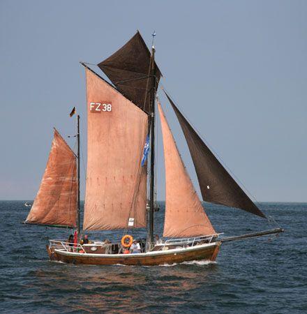 FZ38 Inge, Werner Jurkowski, Hanse Sail Rostock 2006 , 08/2006
