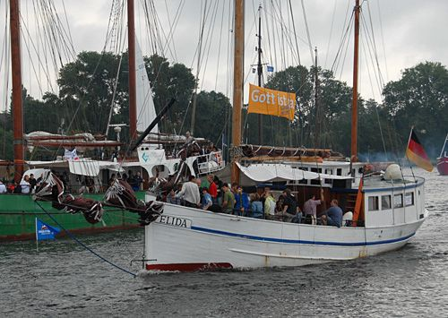 Elida, Volker Gries, Hanse Sail Rostock 2007 , 08/2007
