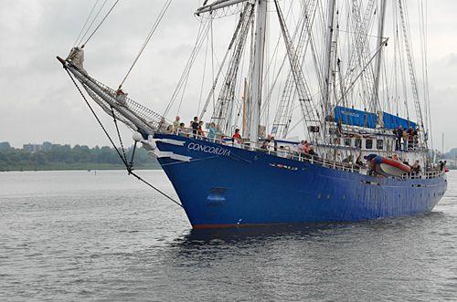 Concordia, Volker Gries, Hanse Sail Rostock 2007 , 08/2007