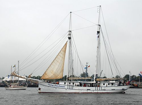 Flying Dutchman, Volker Gries, Hanse Sail Rostock 2007 , 08/2007