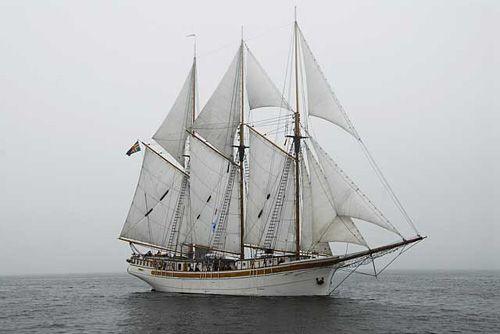 Linden, Volker Gries, Hanse Sail Rostock 2007 , 08/2007