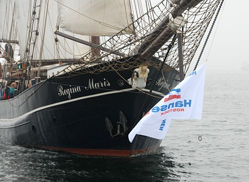 Regina Maris, Volker Gries, Hanse Sail Rostock 2007 , 08/2007