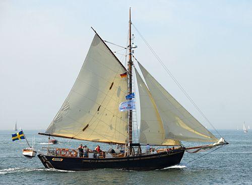 Hoppet av Brantevik, Volker Gries, Hanse Sail Rostock 2008 , 08/2008