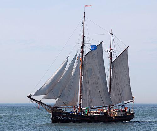 Fortuna, Volker Gries, Hanse Sail Rostock 2008 , 08/2008
