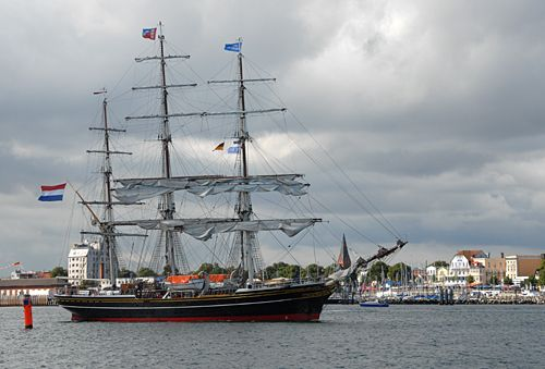 Stad Amsterdam, Volker Gries, Hanse Sail Rostock 2008 , 08/2008
