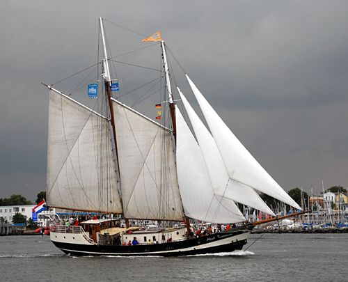 Abel Tasman, Volker Gries, Hanse Sail Rostock 2008 , 08/2008