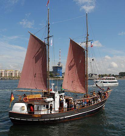 Sirius, Volker Gries, Hanse Sail Rostock 2008 , 08/2008