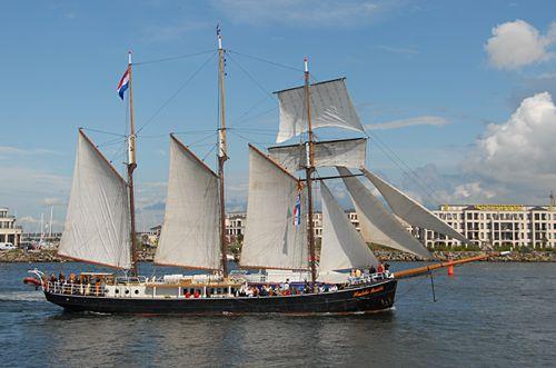 Hendrika Bartelds, Volker Gries, Hanse Sail Rostock 2008 , 08/2008