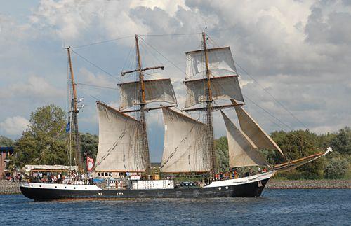 Fridtjof Nansen, Volker Gries, Hanse Sail Rostock 2008 , 08/2008
