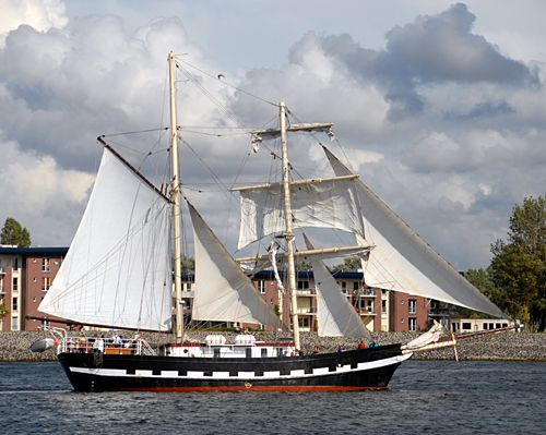 Lady of Avenel, Volker Gries, Hanse Sail Rostock 2008 , 08/2008