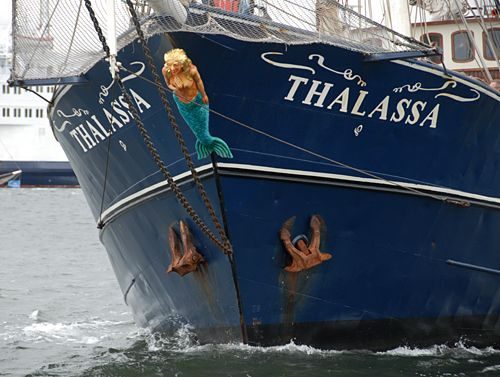 Thalassa, Volker Gries, Hanse Sail Rostock 2008 , 08/2008