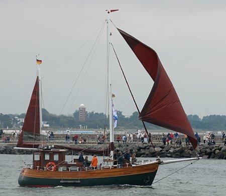 Glauke, Volker Gries, Hanse Sail Rostock 2008 , 08/2008