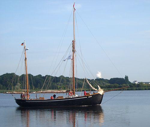 Hansine, Volker Gries, Hanse Sail Rostock 2008 , 08/2008