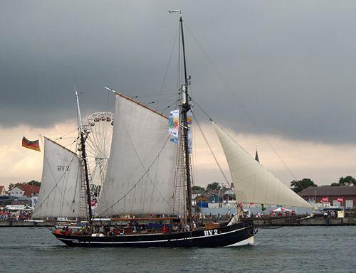 Vegesack BV2, Volker Gries, Hanse Sail Rostock 2008 , 08/2008