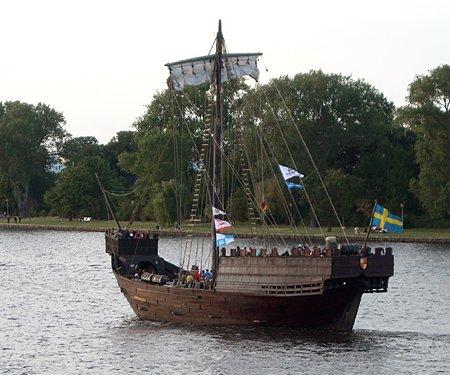 Twekamp af Elbogen, Volker Gries, Hanse Sail Rostock 2008 , 08/2008